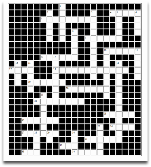 Worthington Condo Crossword