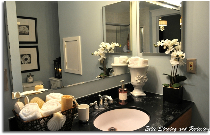 Bathroom Staging Ideas | Budget Bathroom Staging Before After Photos