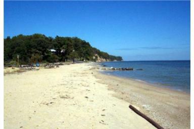 View Of Seahorse Beach On The Chesapeake Bay In Lusby