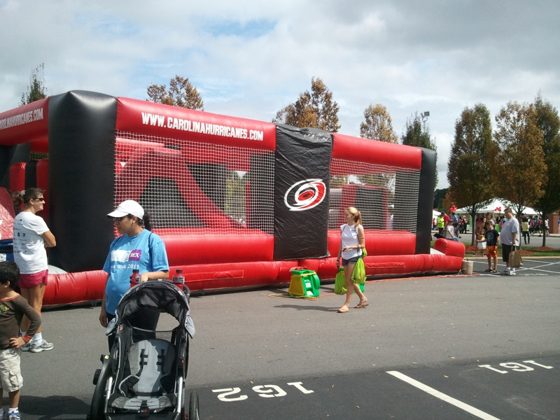 Carolina Hurricanes Jumping