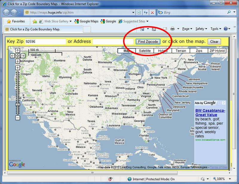 Tutorial How To Show Zip Codes On A Google Map