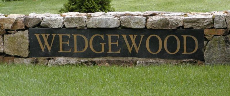 Wedgewood Estates Sign