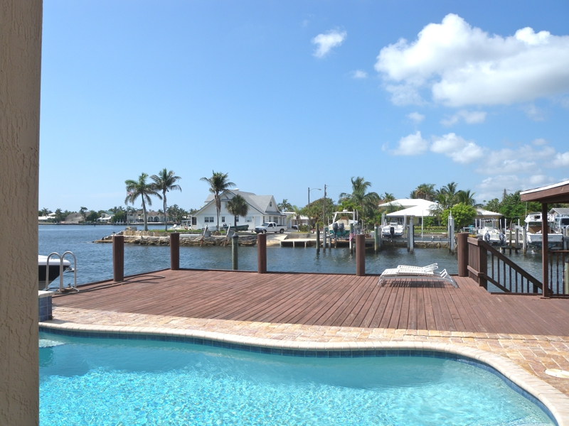 pool overlooking intracoastal waterways home for sale boynton beach