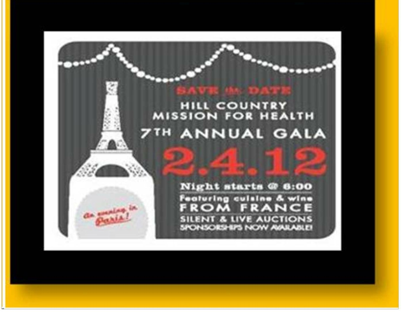 Hill Country Mission for Health Gala