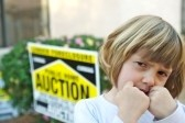 Child Suffering From Foreclosure