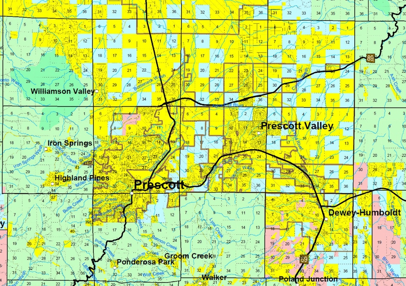 Land Use in Prescott Area