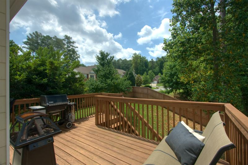 203 Creekway Ct Back Deck