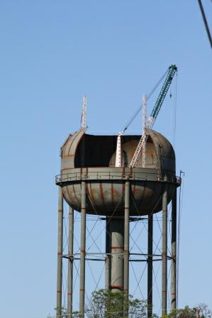 have you ever seen the inside of a water tower updated. Black Bedroom Furniture Sets. Home Design Ideas