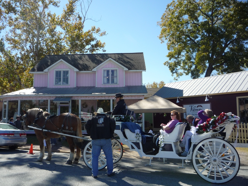 Carriage Rides in Old Town Spring