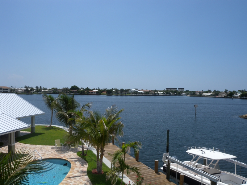waterfront home for sale with water views boynton beach fl