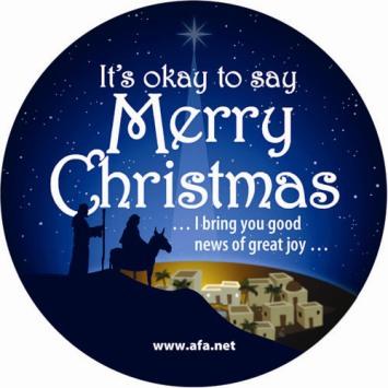 to say merry christmas to you