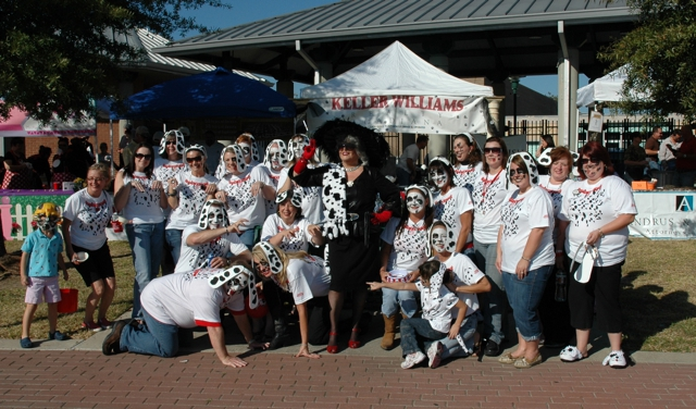 Keller Williams Crew at the Gumbo Cook off 2010, Lafayette, LA