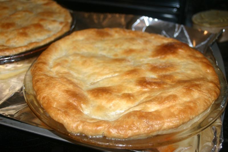 Healthy Homemade Chicken Pot Pie