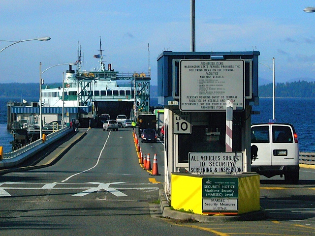Fauntleroy ferry dock on a beautiful autumn day last week
