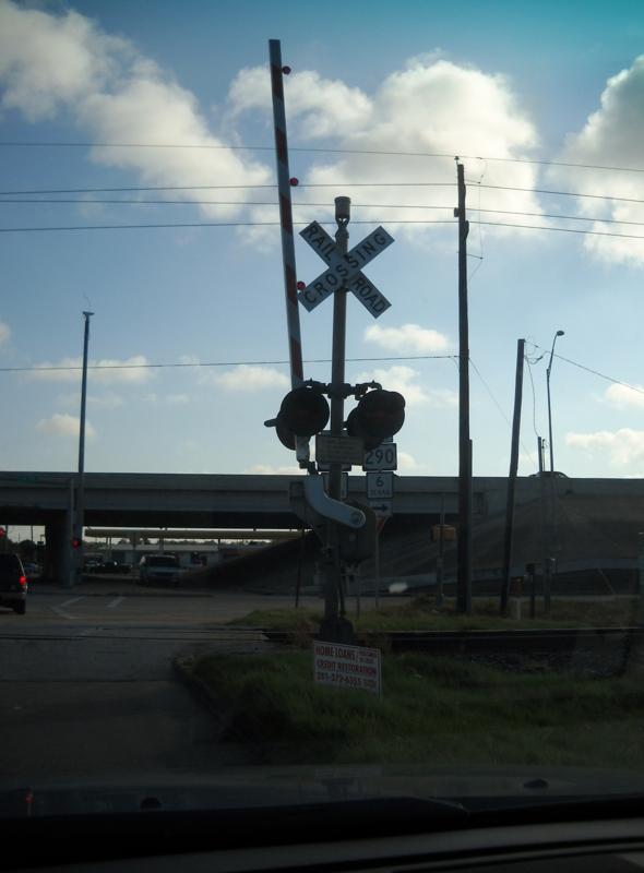 Rail Road Tracks at Telge and Highway 290