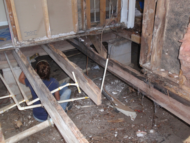 Fixing The Fixer Upper Start At The Bottom Foundation And Sub Floor