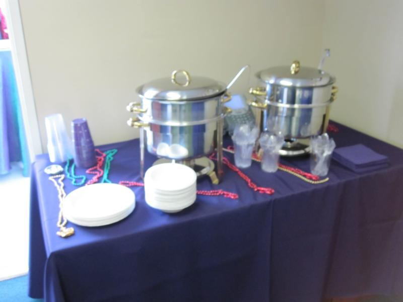 Mardi Gras Party - Orange County - At Your Service Catering