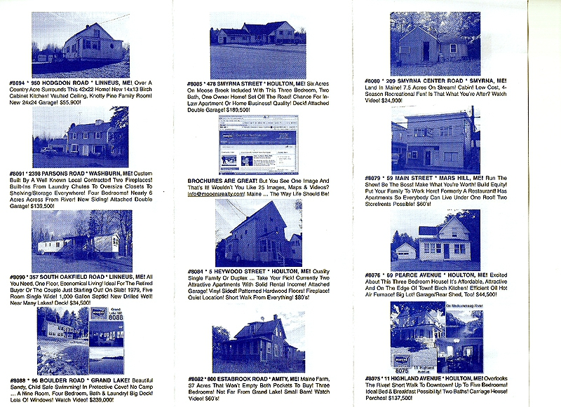 maine real estate brochure