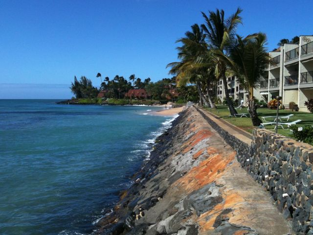 West Maui oceanfront leasehold condos
