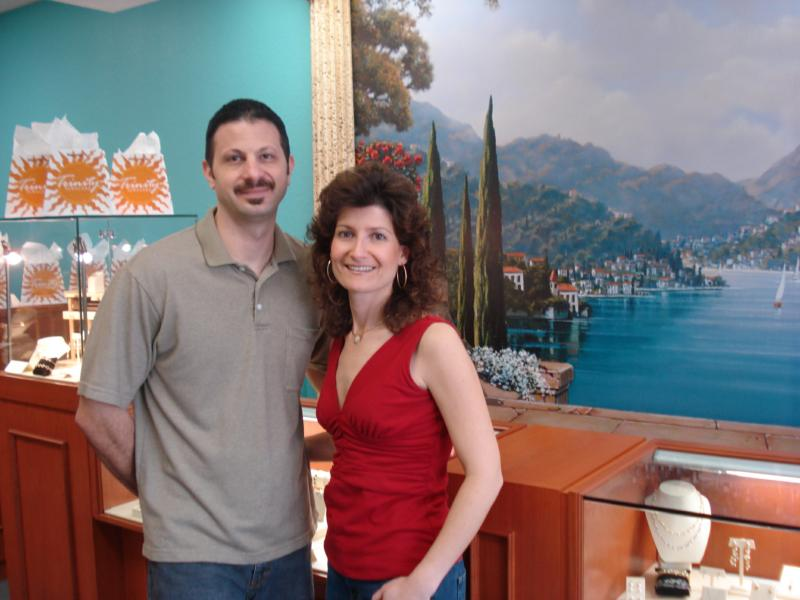 Michael and Maryanna-Owners of Trinity Jewelers