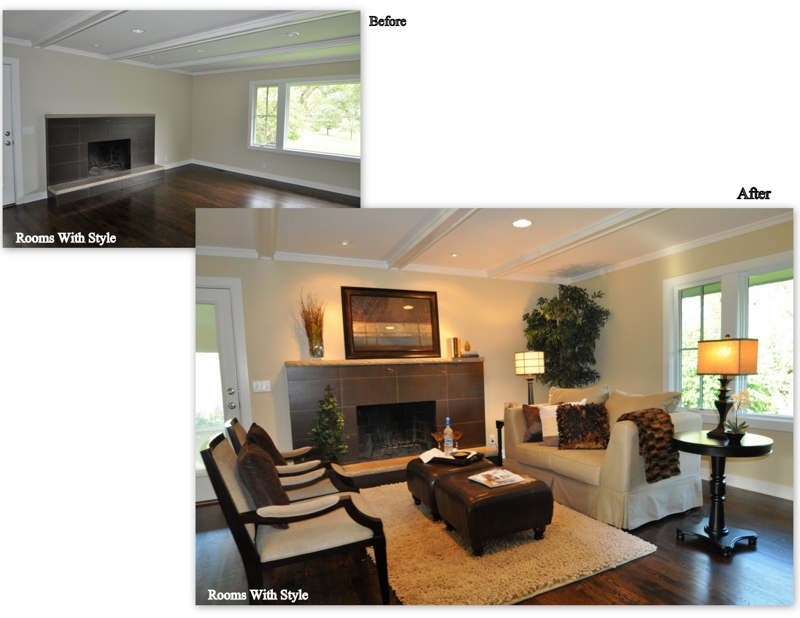 Vacant Home Staging Golden Valley Mn From Cold To Cozy And Charming Rooms With Style