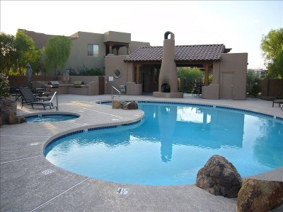 Discover beautiful pool property in fountain hills arizona for Pools in mesa az