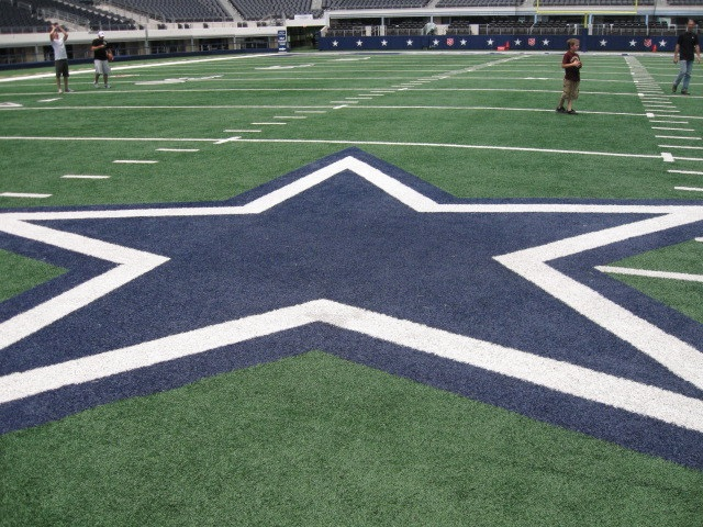 conroe homes -- Dallas Cowboy stadium