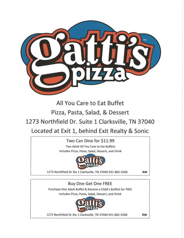 Gattis coupon code
