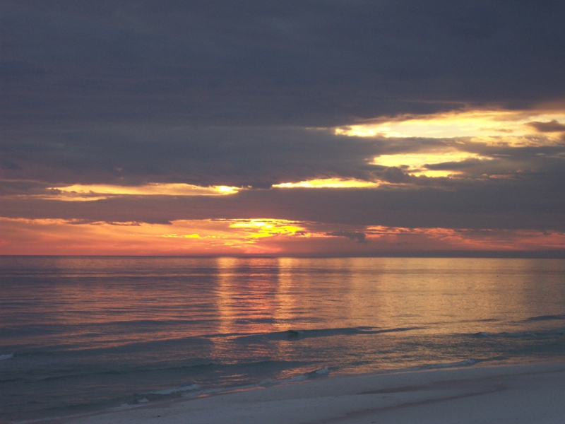Destin Beach Sunset - Destin, FL