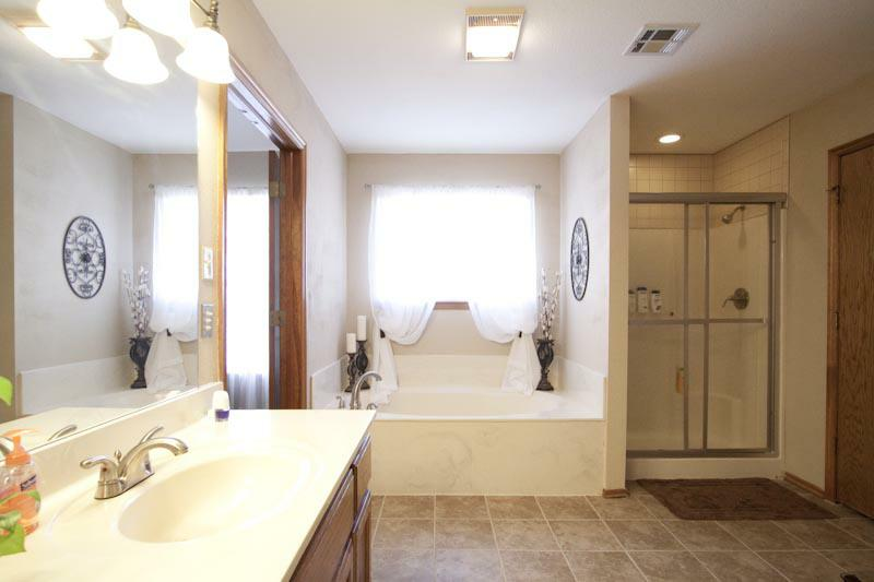 Master bathroom Copper Meadows Owasso OK