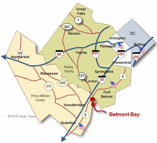Belmont Bay Map-Cindy Jones