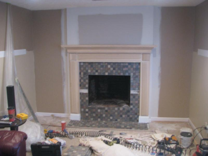 Before And After Fireplace Photos Add Space And Value To