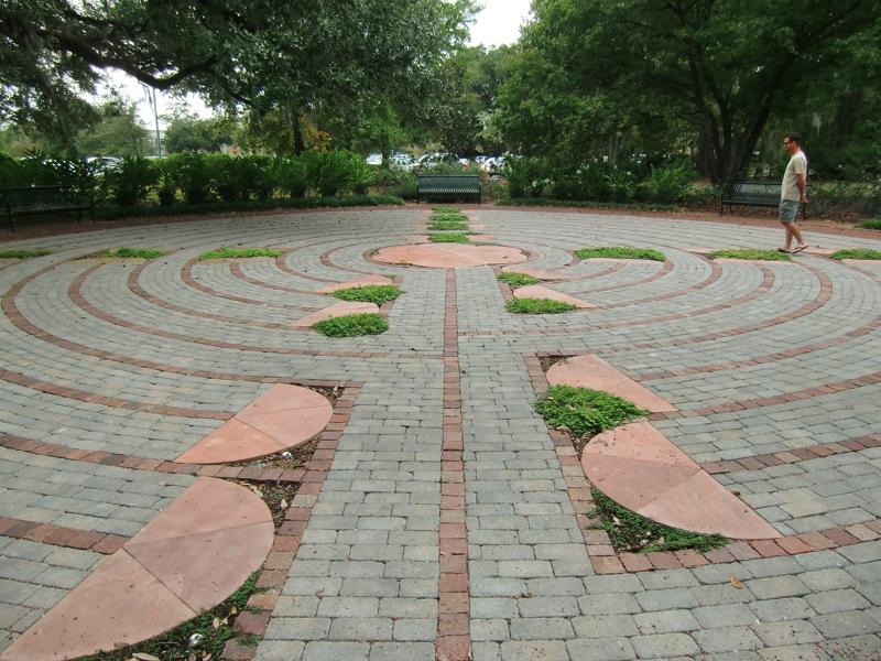 Labyrinth Meditation Garden At Roper St Francis In