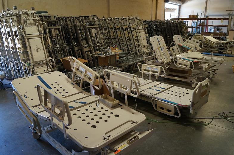 Hill Rom used and reconditioned hospital beds for sale