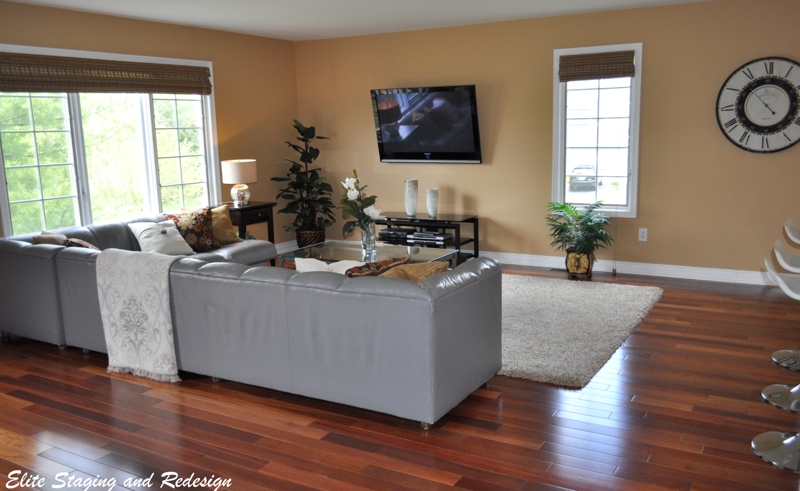 Staging Open Floor Concept Homes Before After Photos