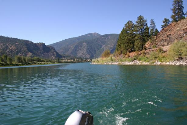Flathead River Near Paradise MT