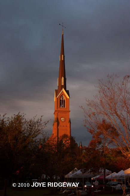 Charleston's tallest Church Steeple:  St. Matthew's Lutheran Church