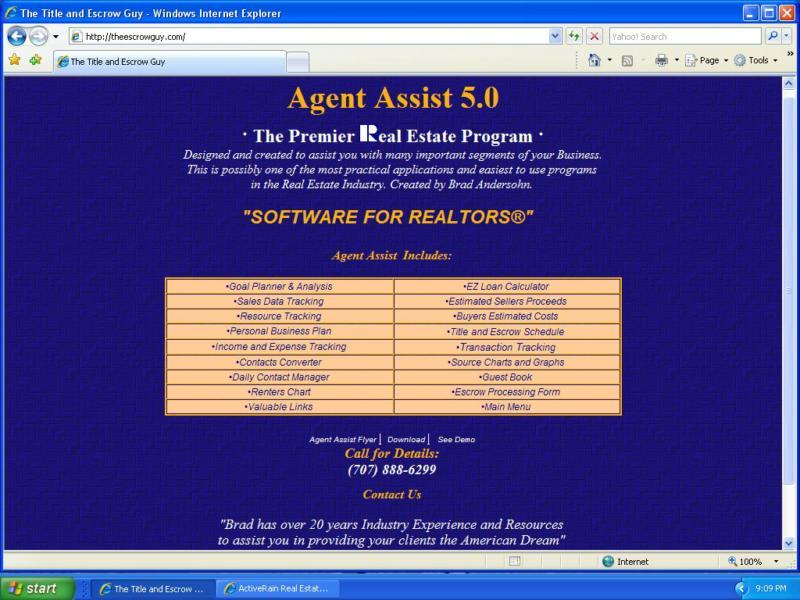 Brad Andersohns Agent Assist