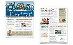 Real Estate Newsletter is a great way to get home buyers and sellers