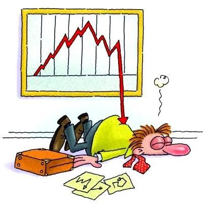 down market