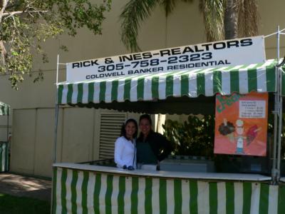RICK & INES booth sponsors