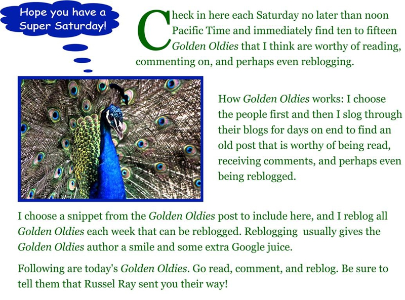 Golden Oldies #26 (December 17, 2011)