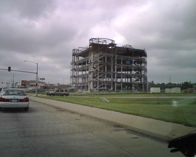 First Bank of Owasso under construction