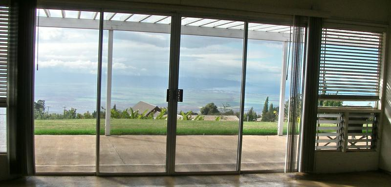 Kula views on Maui from a Maui fixer upper home for sale