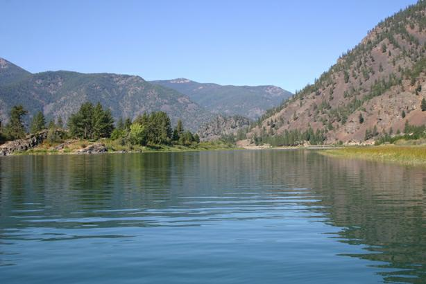 On Montana's Flathead River