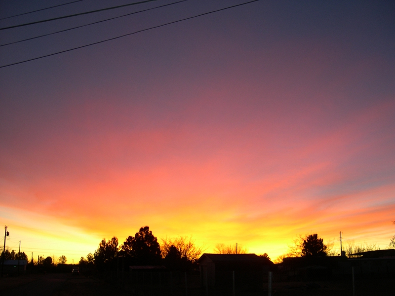 Carlsbad New Mexico sunrise