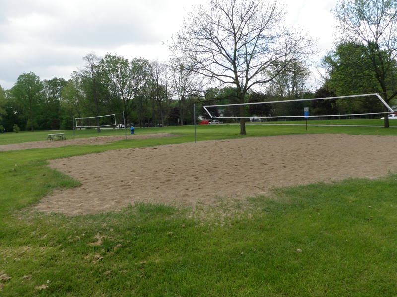 Sand Volleyball Courts Rotary Park Livonia Michigan