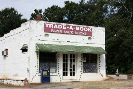 Trad A Book shop in Bishop, Georgia by Michelle DeRepentigny, Broker of Success Realty