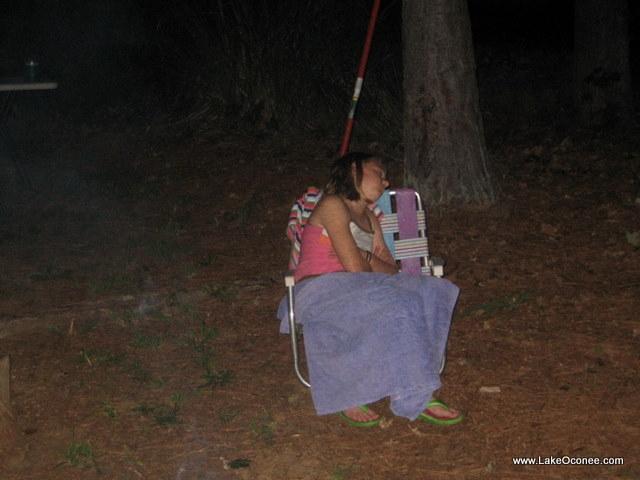 Lake Oconee Granchildren Bonfires