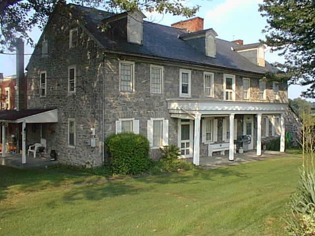 Stone farm house, Lancaster, PA